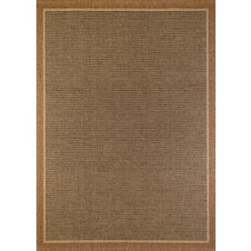 Balta Sisal Brown Rectangular Indoor and Outdoor Woven Area Rug (Common: 8 x 11; Actual: 94-in W x 126-in L)