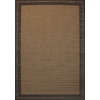 Balta Subway 5-ft 3-in x 7-ft 6-in Rectangular Brown Border Indoor/Outdoor Area Rug