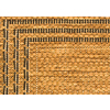 allen + roth Arena Chestnut Rectangular Indoor/Outdoor Machine-Made Area Rug (Common: 5 x 7; Actual: 63-in W x 90-in L)