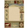 Balta Rustic Lodge-Outdoor Sportsman Rectangular Indoor Woven Area Rug (Common: 5 x 7; Actual: 63-in W x 87-in L)