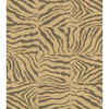 Balta 5-ft 3-in x 7-ft 3-in Beige Zebra Squares Area Rug