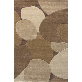 Balta Hand Carved-Riverbed Rectangular Indoor Woven Area Rug (Common: 4 x 6; Actual: 47-in W x 66-in L)