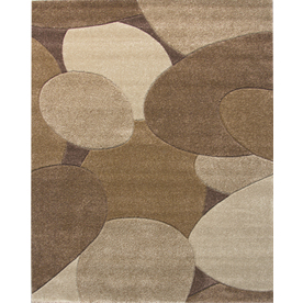 Balta Hand Carved-Riverbed Rectangular Indoor Woven Area Rug (Common: 8 x 10; Actual: 94-in W x 120-in L)