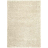 Balta Comfort Shag-2x4 Rectangular White Accent Rug