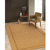 allen + roth Expressway Chestnut Rectangular Indoor/Outdoor Machine-Made Area Rug (Common: 8 x 10; Actual: 94-in W x 120-in L)