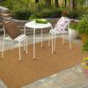 Balta Cabana Rectangular Indoor and Outdoor Woven Area Rug (Common: 4 x 6; Actual: 47-in W x 66-in L)