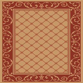 "Shop Balta 6 9"" Square Heritage Patio Area Rug at Lowes"