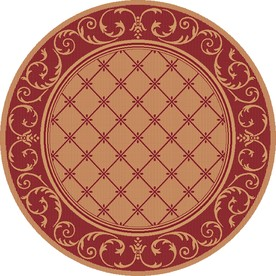 Shop Balta 6 39 9 Round Heritage Patio Area Rug At
