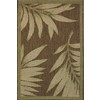 Balta Weft 24-in x 35-in Rectangular Green Floral Accent Rug