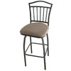 Grand Aspirations Graphite 29-in Adjustable Stool