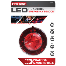 Electriduct Road Emergency Beacon LED Flare KIT with Storage Case Red + Blue