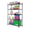Style Selections 72.3-in H x 47.7-in W x 18-in D 5-Tier Steel Freestanding Shelving Unit