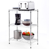 Style Selections 30.5-in H x 23.2-in W x 13.4-in D 3-Tier Steel Freestanding Shelving Unit