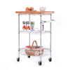 Style Selections 2 Ft x 20-in Chrome Wire Shelf