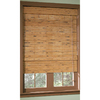 Style Selections Pecan Light Filtering Natural Roman Shade (Actual: 72-in)