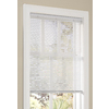 allen + roth 1-in White Vinyl Light Filtering Cordless Mini-Blinds