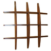 Real Organized 29.50-in Wood Wall Mounted Shelving
