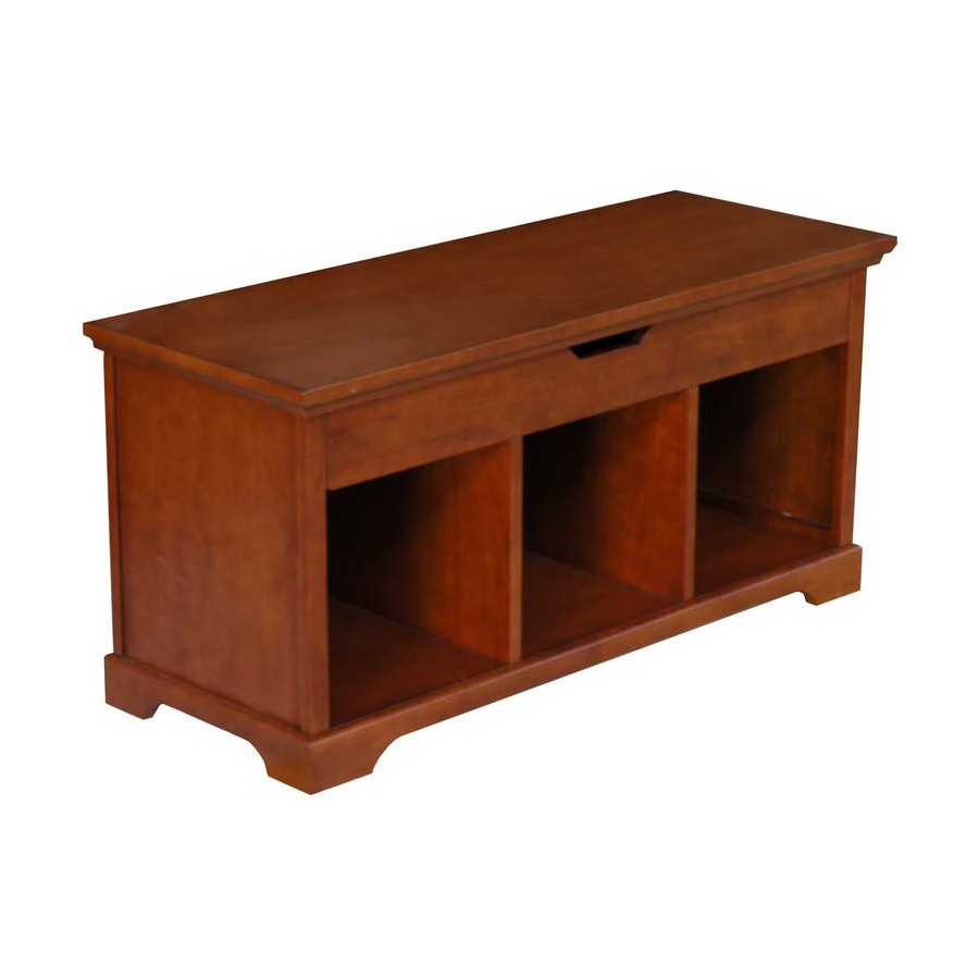 Shop Allen Roth Sable Entryway Bench At