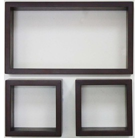 allen + roth 3-Piece Wood Wall Mounted Shelving