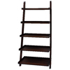 allen + roth 72.75-in H x 27-in W x 17.63-in D 5-Tier Wood Freestanding Shelving Unit