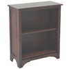 allen + roth Loren Espresso 32.13-in 2-Shelf Bookcase