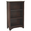 allen + roth Loren Espresso 45.5-in 3-Shelf Bookcase