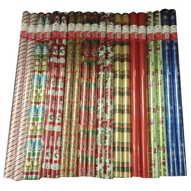 Creative Presence Assorted 3.33-ft x 12-ft Christmas Wrapping Paper IG69063