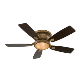 Fanimation Loreto 52-in Sedona Beige Flush Mount Indoor Ceiling Fan with Light Kit and Remote