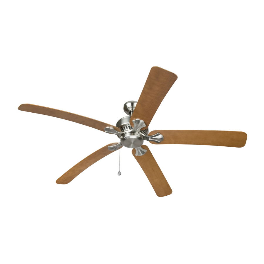Shop Harbor Breeze 60 Elevation Ceiling Fan At Lowes