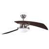 allen + roth 48-in Santa A Brushed Nickel Ceiling Fan with Light Kit and Remote