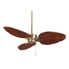 Fanimation 56-in Windpointe Antique Brass Ceiling Fan