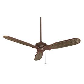 Fanimation 60-in Windpointe Rust Outdoor Ceiling Fan
