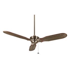 Fanimation Windpointe 60-in Pewter Indoor Downrod Mount Ceiling Fan