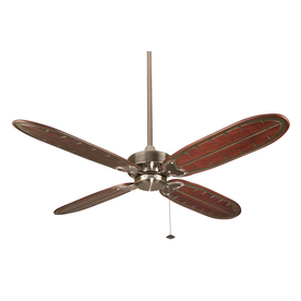 Fanimation 60-in Windpointe Pewter Ceiling Fan