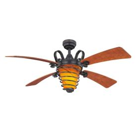 Harbor Breeze 52-in Ceiling Fan with Light Kit and Remote
