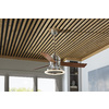Harbor Breeze Pier 39 52-in Brushed Nickel Downrod Mount Ceiling Fan LED with Light Kit and Remote (3-Blade)