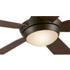 Harbor Breeze Platinum Portes 52-in Aged Bronze Downrod Mount Indoor Ceiling Fan with Light Kit and Remote