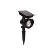 Portfolio 24x Brighter Black Solar LED Landscape Flood Light