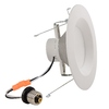 Project Source 65-Watt Equivalent White LED Recessed Retrofit Downlight (Fits Housing Diameter: 5-in or 6-in)
