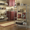 Style Selections 54-in H x 36-in W x 14-in D 4-Tier Steel Freestanding Shelving Unit