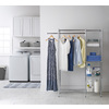 Style Selections Chrome Plated Steel Garment Rack