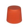 Sunjoy 16-in Orange Plastic Barrel Garden Stool
