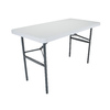 LIFETIME PRODUCTS 48-in x 24-in Rectangular Steel Folding Table