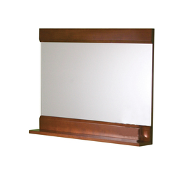 DECOLAV 24-1/8-in H x 32-3/4-in W Sag Harbour Cherry Rectangular Bath Mirror