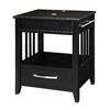 DECOLAV Ambrosia Black Birch Bathroom Vanity with Granite Top (Common: 24-in x 19-in; Actual: 24-in x 20-in)