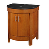 DECOLAV Haddington Cherry Birch Bathroom Vanity with Granite Top (Common: 24-in x 22-in; Actual: 24-in x 22-in)