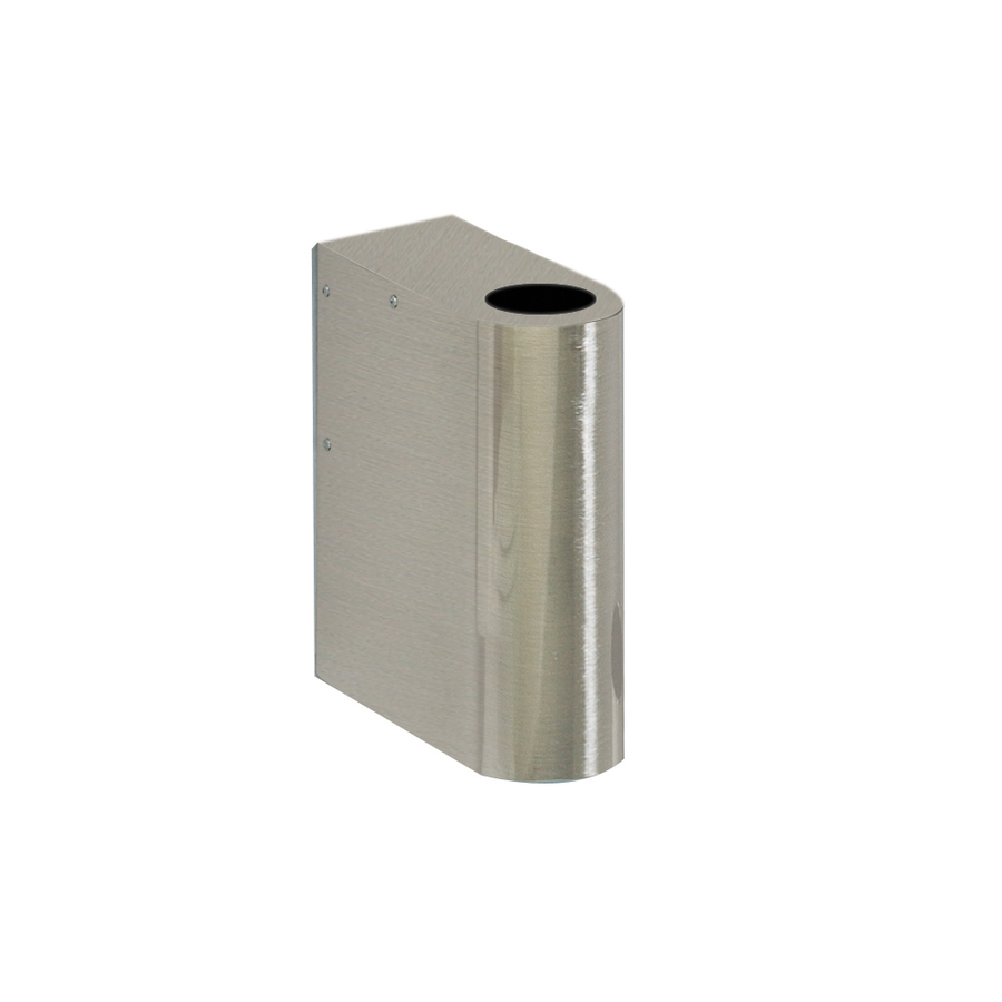 ... 11.875-in H Brushed Stainless Steel Pedestal Sink Base at Lowes.com