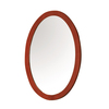 DECOLAV Ancahra Cherry Oval Bathroom Mirror