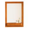 DECOLAV 31-in H x 22-in W Bathroom Furniture Cherry Rectangular Bathroom Mirror