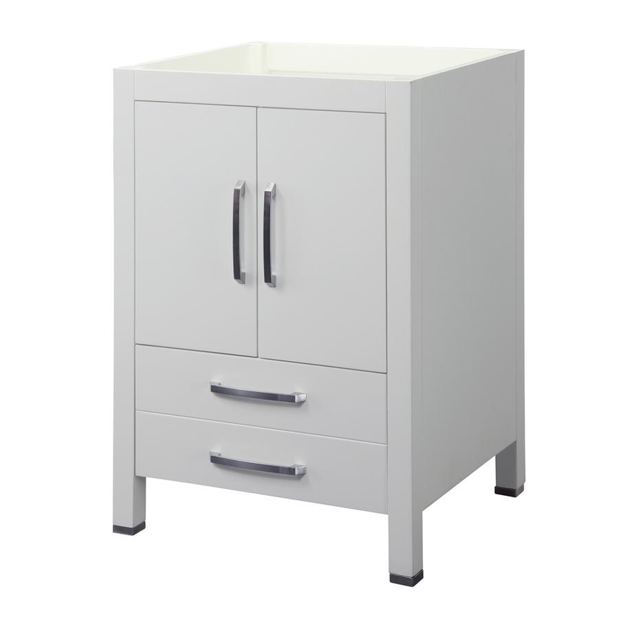 Shop Decolav Cameron Modular 24 In X 21 In White Contemporary Bathroom Vanity At